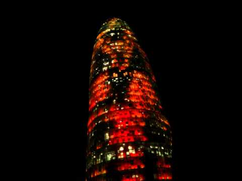 Barcelona - Torre Agbar Light Show