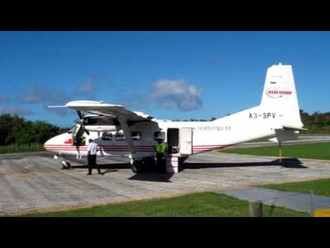Real Tonga Harbin Y-12 flights