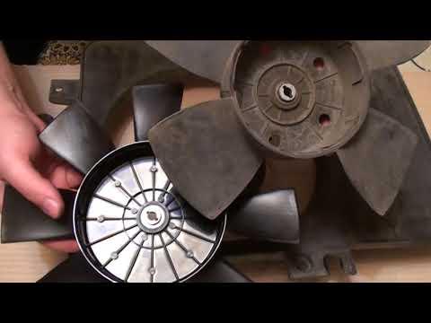 Замена крыльчатки на вентиляторе охлаждения ВАЗ 2110.