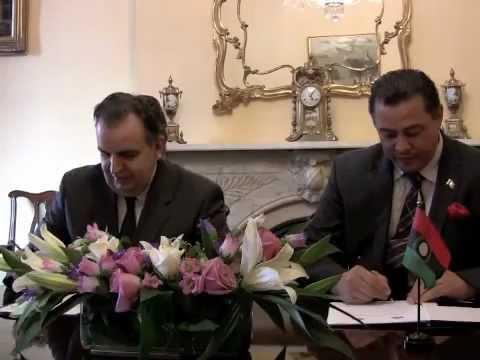 Malawi and Armenia (Amb. Brian Bowler and Amb. G. Nazarian) Diplomatic Relations