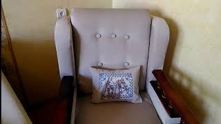 Мои творческие практики. Готовое кресло.