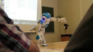Demo of NAO robot