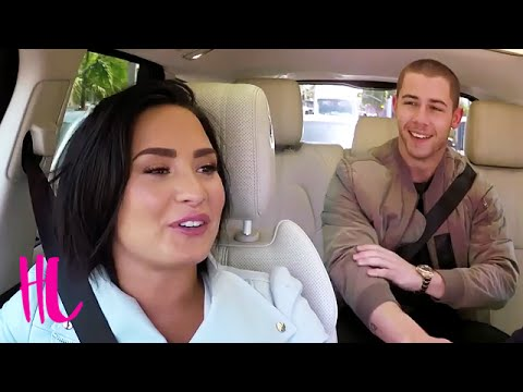 Nick dating demi