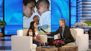 Ellen Surprises an 11-Year-Old Cancer Survivor