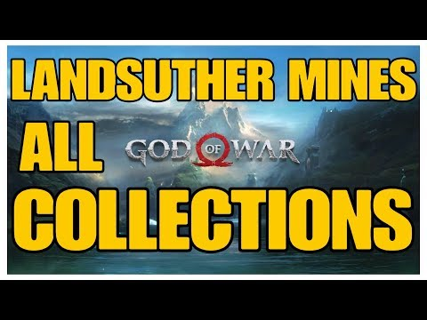 God Of War - Landsuther Mines All Collectible Locations (Ravens, Chests, Artefacts, Shrines)  