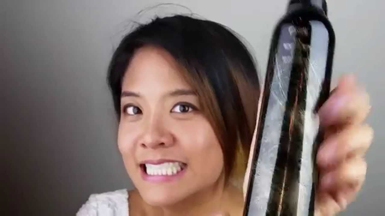 How To Curl Short Hair With Jackie Liu Youtube