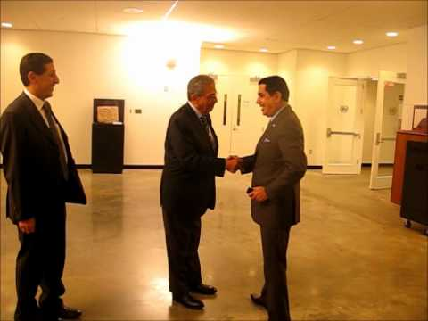 At UN, Moussa Meets Ban Ki-moon Amid Syria Joke and Spin, by InnerCityPress.com
