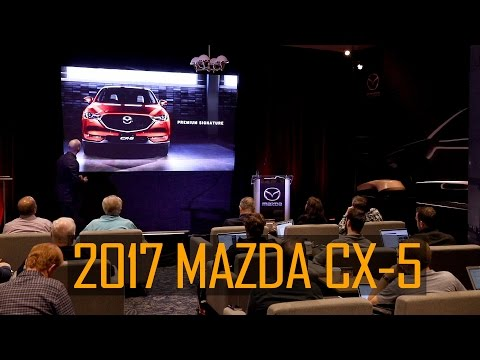 2017 Mazda CX-5 US Media Presentation