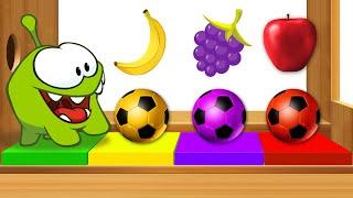 Impara i colori e numeri | Om Nom e Xilofono con frutti | Video di apprendimento