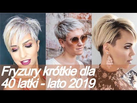 Top 20 Modne Fryzury Krótkie Dla 40 Latki Lato 2019