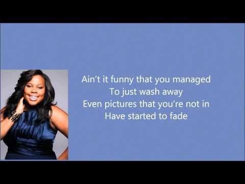 Amber Riley - Colorblind (Lyrics)