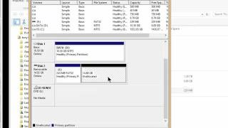 Using Microsoft's Diskpart To Recover Unallocated Space
