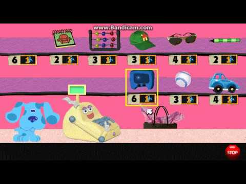 blues clues counting with cash register uk version