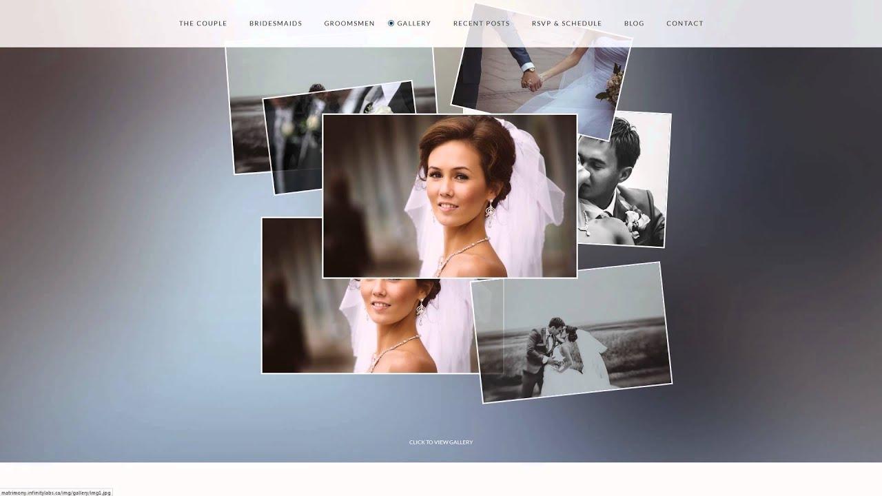 Matrimony - Responsive HTML5 Template - YouTube