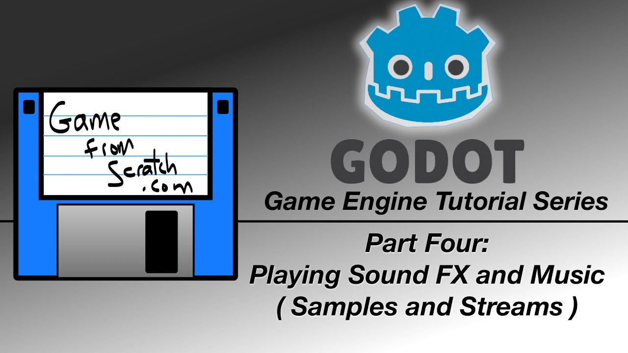 Godot Engine Tutorial Part 4 – Playing Sound FX and Music