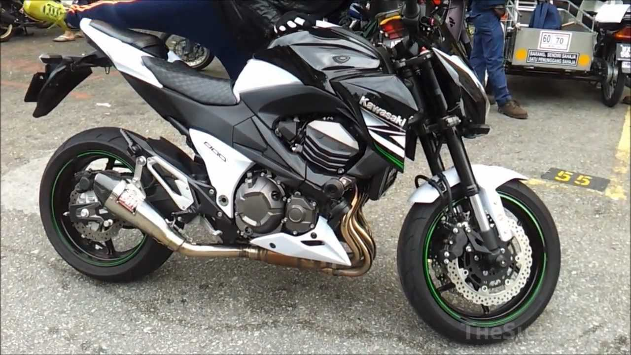 2013 kawasaki z800 yoshimura r55 exhaust youtube. Black Bedroom Furniture Sets. Home Design Ideas
