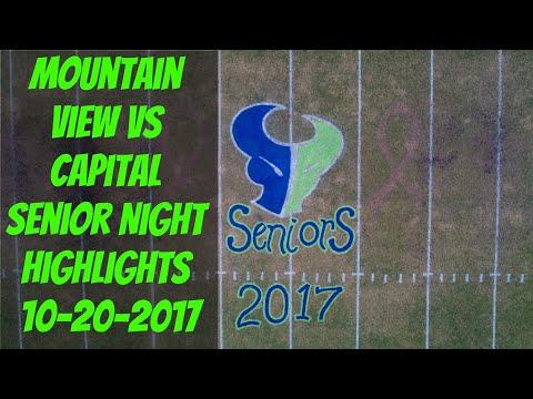 Mountain View vs Capital Football Highlights 10-20-17