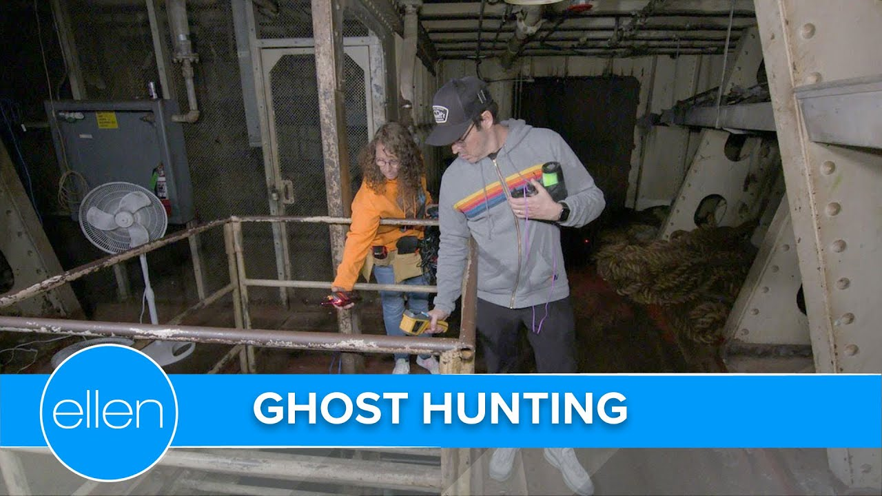 Download Andy & Linda the Ghost Hunter on the Haunted Queen Mary