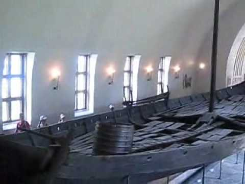 The Viking Ships in Oslo, Norway