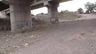 En lazaro Cardenas Bajo los puentes del Rio Balsas