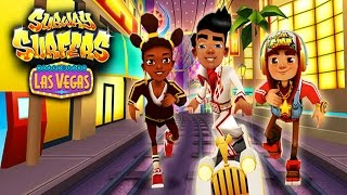 Subway Surfers: Las Vegas - Sony Xperia Z2 Gameplay