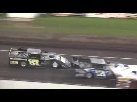 IMCA Late Model Heat Benton County Speedway 8/28/16