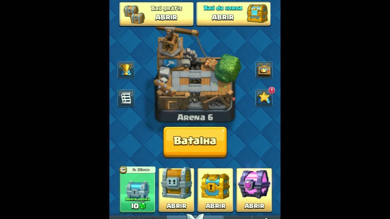 Clash Royale Arena 6 Karten