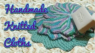 KNITTED WASHCLOTH / DISH RAG(, 2017-01-30T07:37:11.000Z)