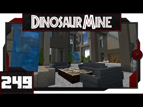 Minecraft - Dinosaur Mine - #249 - Hotel Lobby!