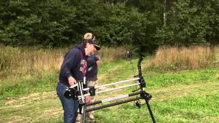 Охота из лука на 150 метров - Какая точность выстрела