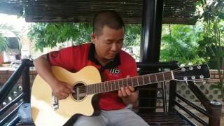Vùng lá me bay - test guitar cẩm ấn 4.000.000d - 0906391557