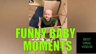 Funny Baby Moments | TRY NOT TO LAUGH - ULTIMATE Epic Kids Fail Compilation | Cute Baby Videos