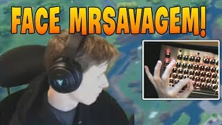 MrSavageM *First Time* Showing His Face & Keyboard Cam on Stream | Best Of MrSavageM
