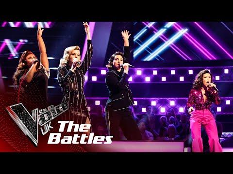 Cat Cavelli VS Belle Noir - 'Dance Monkey' | The Battles | The Voice UK 2020