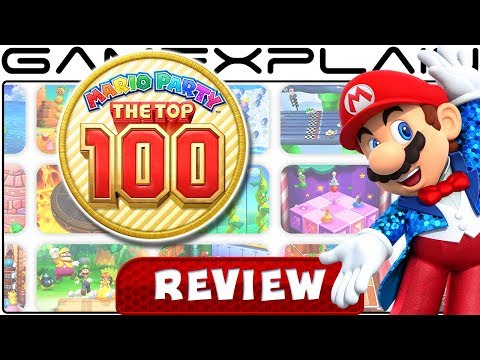 Mario Party: The Top 100 - REVIEW (3DS)