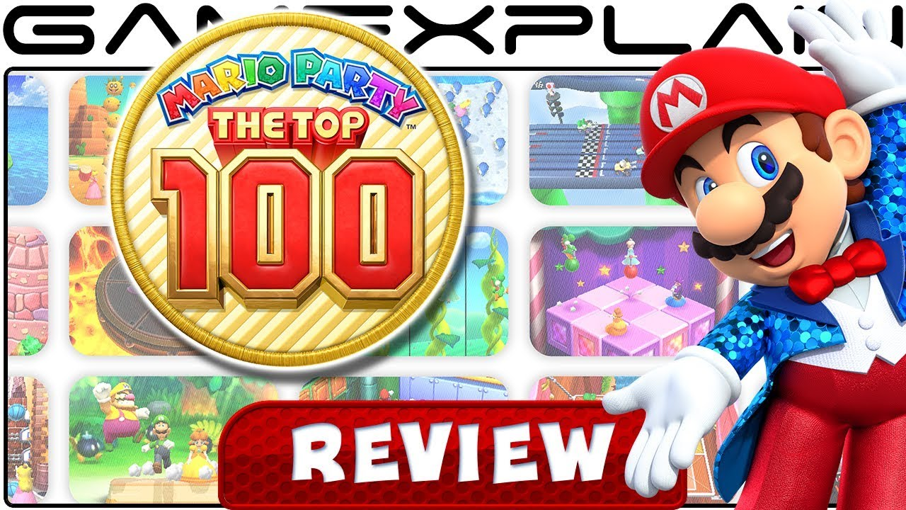 Mario Party The Top 100  Review (3ds)  Youtube