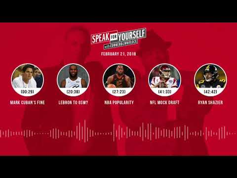 SPEAK FOR YOURSELF Audio Podcast (2.21.18) with Colin Cowherd, Jason Whitlock   SPEAK FOR YOURSELF