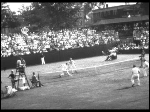 Pro Tennis Match from 1939 - Don Budge