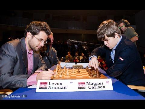 GM Carlsen Magnus(2850) vs GM Aronian Levon(2781)  0 -1