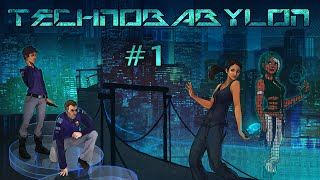 Technobabylon (Ep. 1 - The Mindjacker)