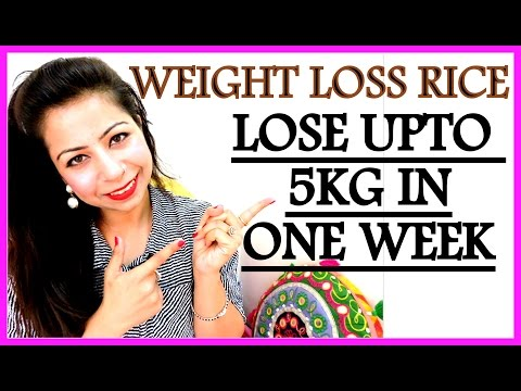 How To Lose Weight Fast 5 Kg In 1 Weeks | Brown Rice Recipe For Weight Loss | How To Cook Brown Rice