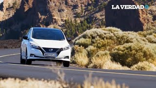 Nissan trae a México su auto 100% eléctrico.