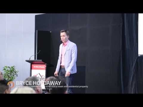 Property Buyer Expo Melbourne Bryce Holdaway - How to retire on $2,000 per week