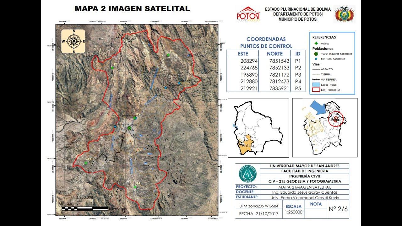 mapa 2 imagen satelital - youtube