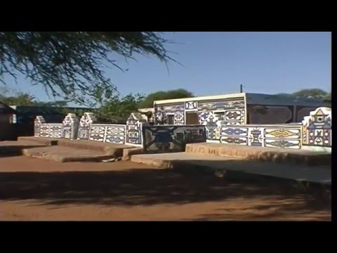 Mapoch Ndebele village (Mabhoko), South Africa