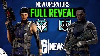Full Reveal New Operators - Kali & Wamai - Shifting Tides - Rainbow Six Siege