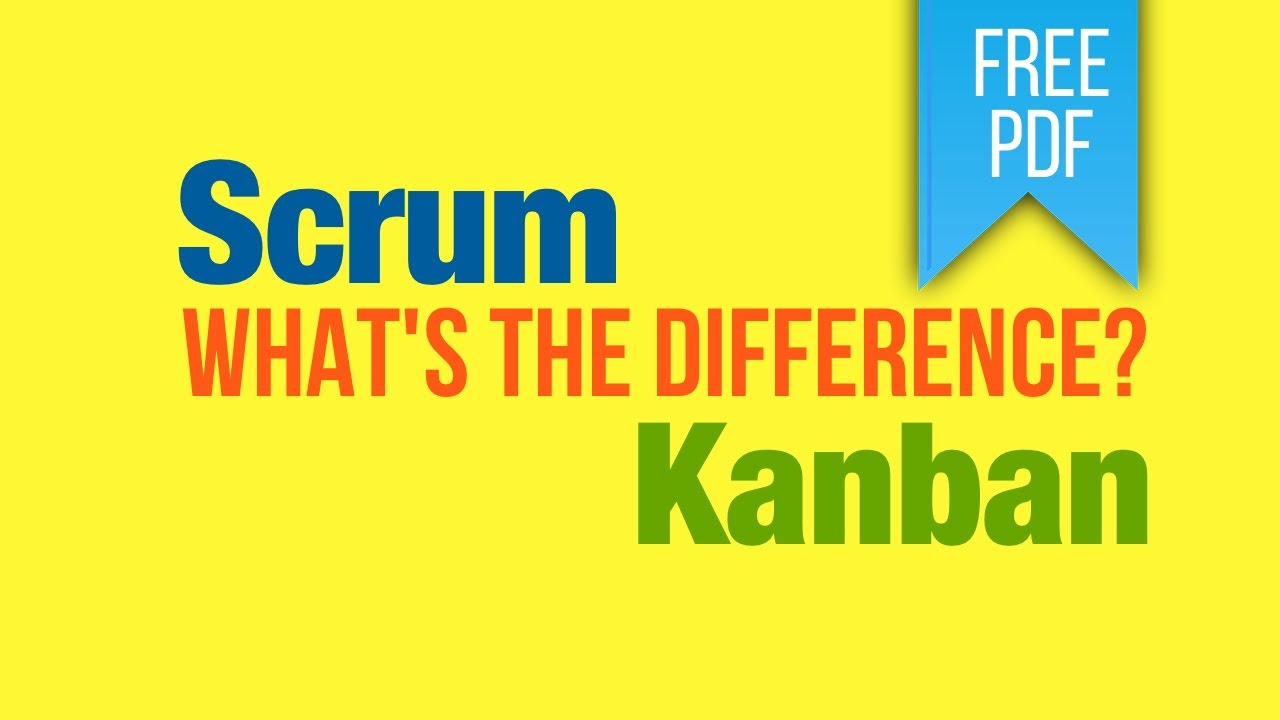 """kanban vs scrum There's a lot of buzz on kanban right now in the agile software development community since scrum has become quite mainstream now, a common question is """"so what."""
