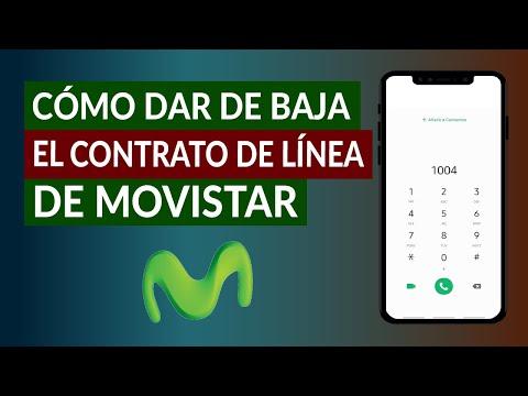 ¿Cómo Dar de Baja el Contrato de Línea de Movistar por Teléfono?