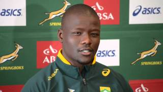 MyPlayers On The Sidelines: Springbok flank Oupa Mohoje