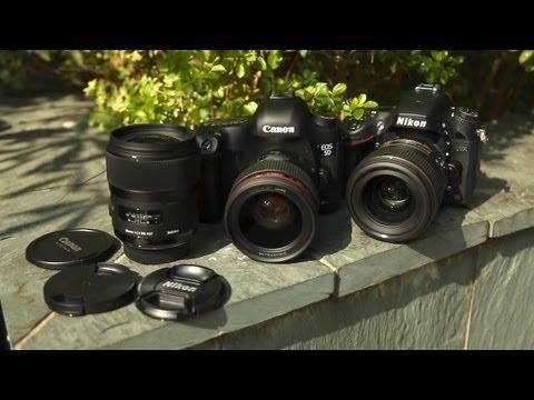Battle Of The Bokeh - Canon, Nikon Sigma 35mm F/1.4